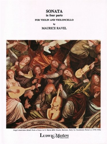 Ravel, Maurice - Sonata ( 1920 - 1922 ) for Violin and Cello. Masters Music (Ravel Sonata For Violin And Cello Sheet Music)
