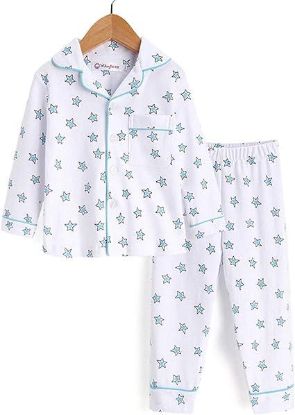 Boy Pjs Pijamas Set Boy Pijamas de Invierno Pijamas para ...