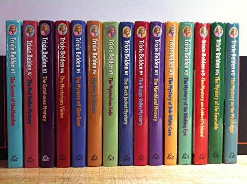(Complete Set of Trixie Belden Books: Deluxe Edition. Secret of the Mansion, Red Trailer, Gatehouse,Visitor, Glen Road, Arizona, Mysterious Code, Black Jacket, Happy Valley, Marshland, and Five More.)