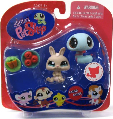 Littlest Exclusive Pet Shop Snake Littlest & Rabbit #1258 #1259 & #1259 ~ Walmart Exclusive [並行輸入品] B01MA5HFCW, Lingerie Labo:cfbb1fcd --- arvoreazul.com.br