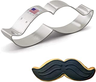 """product image for Ann Clark Cookie Cutters Mustache Cookie Cutter, 5.25"""""""