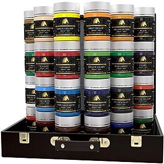Acrylic Paint Set - 24 x 100ml Bottles - Heavy Body - Lightfast - Artist Quality Paints by MyArtscape™