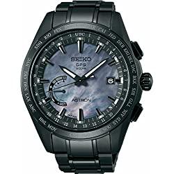 Mens Seiko Astron GPS Solar World Time Ceramic and Titanium LIMITED EDITION Watch SSE091