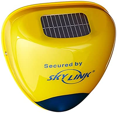 Skylink SA-001S Wireless Outdoor Solar Siren Security Alarm Accessory for SkylinkNet, M-Series and SC Series Systems