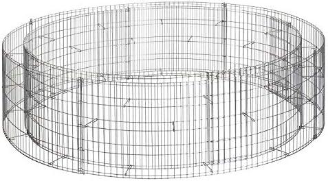 Kräuterspirale Kräuterschnecke Steinkorb bellissa 200x150cm