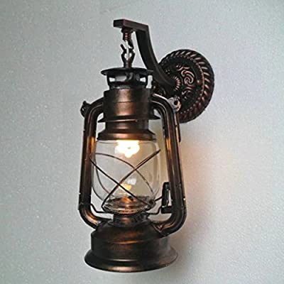 Home Decorate Lights Fixtures - Lantern Wall Mounted Light - 8520 - Rustic