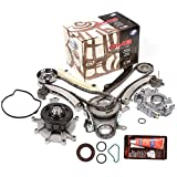 Evergreen TKTCS5037LWOP Fits 04-07 Mitsubishi Jeep Dodge 3.7L Timing Chain Kit Water Pump Oil Pump (NGC Cam Gear) Timing Cover Gasket