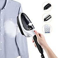 Housmile Garment Steamer Fast Heat-up Handheld Portable Fabric Steamer with Brush for Clothes, for Home and Travel, 100ML Capacity