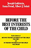 img - for Before the Best Interests of the Child book / textbook / text book