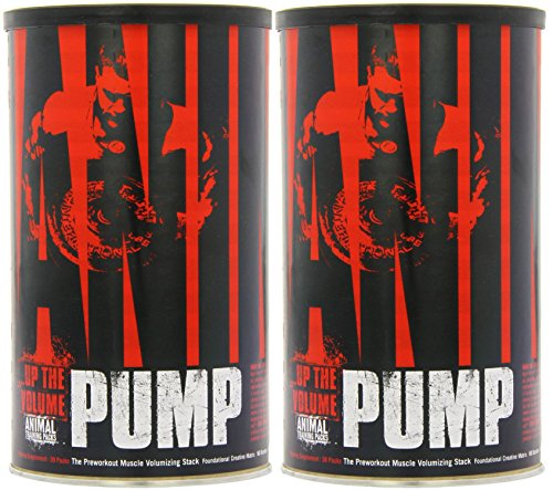 Universal Nutrition System Animal Pump 30 Packets [2 Pack]