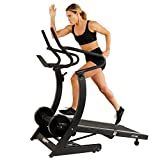 Sunny Health & Fitness Unisex 7700 Manual Treadmill, Black, Medium