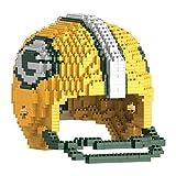 FOCO Green Bay Packers 3D Brxlz - Large Helmet