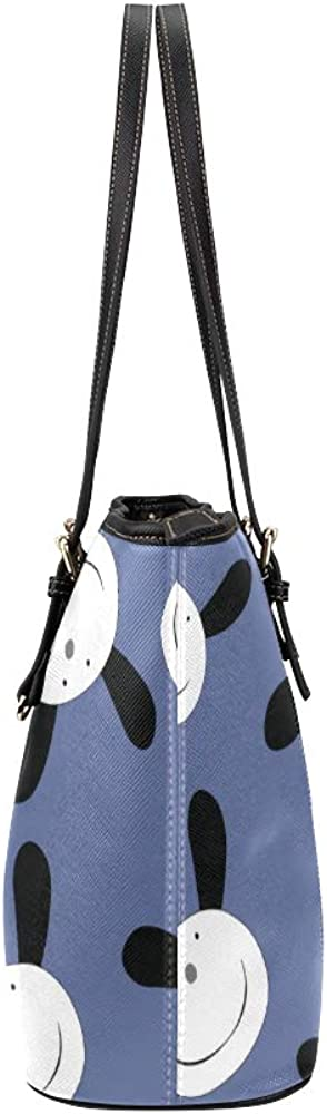 Ladies Handbags On Sale Warm Cute Cartoon Animal Pet Dog Heart Leather Hand Totes Bag Causal Handbags Zipped Shoulder Organizer For Lady Girls Womens Tote Luggage