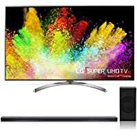 LG 55SJ8500 55 4K SUHD HDR Smart LED TV with SJ8 4.1 Channel High Resolution Audio Soundbar with Wireless Subwoofer