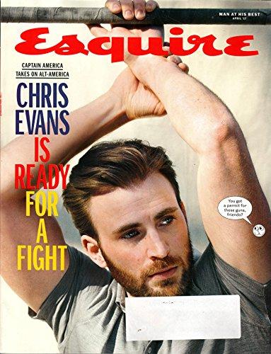 Esquire Periodical April 2017 | Chris Evans