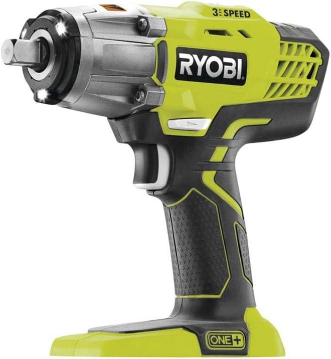 Ryobi R18IW3-0 - Llave de impacto de 3 velocidades