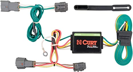 CURT 56222 Vehicle-Side Custom 4-Pin Trailer Wiring Harness for Select on 2008 kia sorento trailer wiring harness, 2013 kia sorento trailer hitch, 2013 kia sorento wiring diagrams,