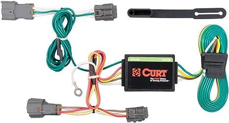 curt 56222 vehicle side custom 4 pin trailer wiring harness for select kia rondo, kia soul  trailer hitches maxima forums