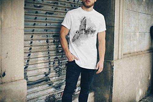 Fly T-Shirt Herren, Men mit stylischen Motiv von Paul Sinus