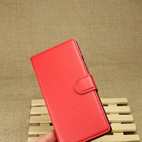 Manyip Funda Huawei P7,Caja del teléfono del cuero,Protector de Pantalla de Slim Case Estilo Billetera con Ranuras para Tarjetas, Soporte Plegable, Cierre Magnético(JFC5-13) C