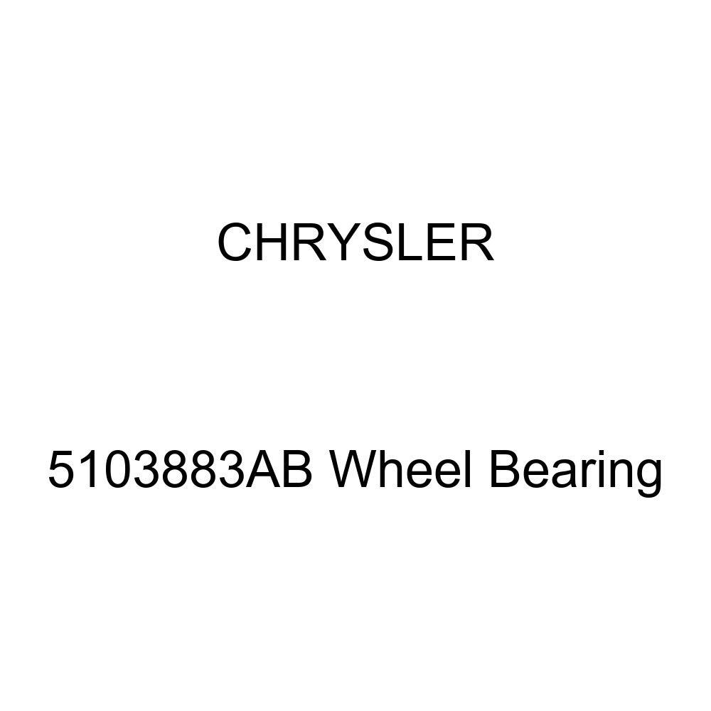 Genuine Chrysler 5103883AB Wheel Bearing