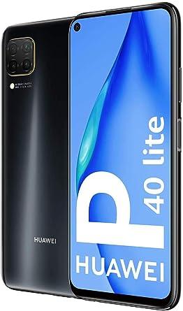 Huawei P40 Lite - Smartphone 128GB, 6GB RAM, Dual Sim, Black: Amazon.es: Electrónica