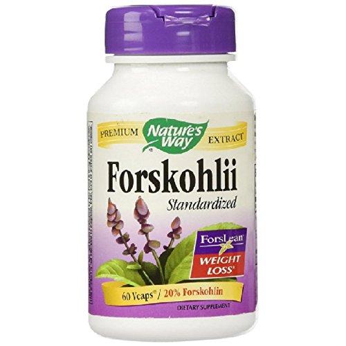 Nature's Way - Forskohlii Standardized - 60 ct Veg Cap