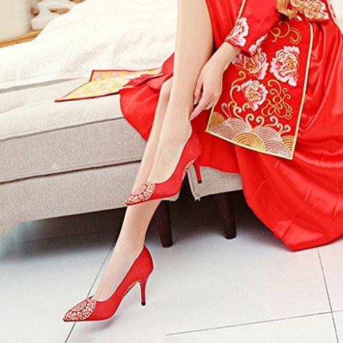 Aluk Brautschuhe Hochzeitsschuhe Schuhe Mit Hohen Absatzen