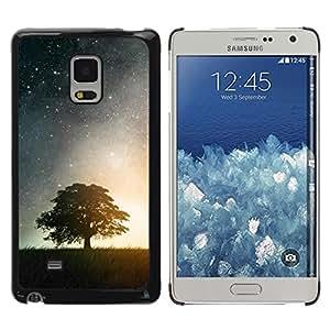 iKiki Tech / Estuche rígido - Nature Moonlight Star Tree - Samsung Galaxy Mega 5.8 9150 9152
