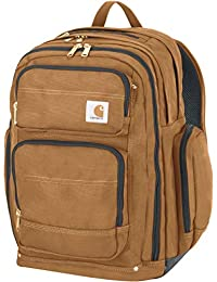 Legacy Deluxe Work Backpack with 17-Inch Laptop Compartment, Carhartt Brown