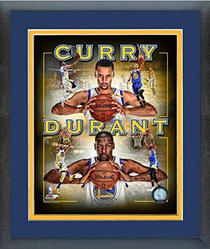ケビンデュラントStephen Curry Golden State Warriors Nba写真(サイズ: 26.5 CM x 30.5 CM )フレーム   B01MSSMZJK