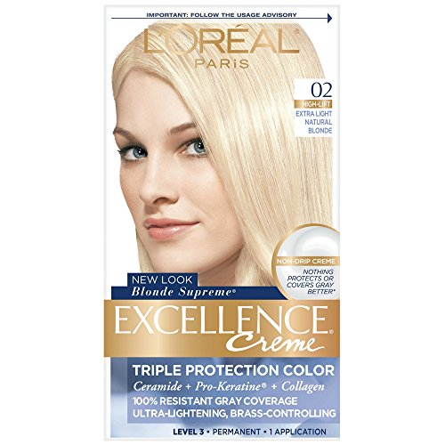 L'Oreal Excellence Creme Blonde Supreme - 02 Extra Light Natural Blonde (Natural) 1 Each (Pack of 2)
