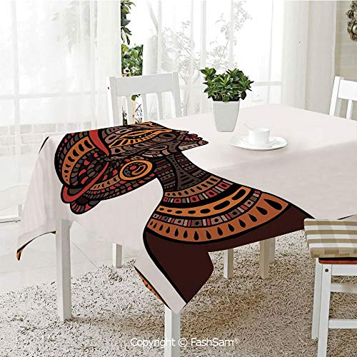FashSam Party Decorations Tablecloth Tribal Exotic Beauty Woman