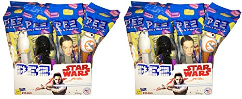 Pez Candy Packs (Star Wars PEZ Candy Dispensers - Pack of 24)