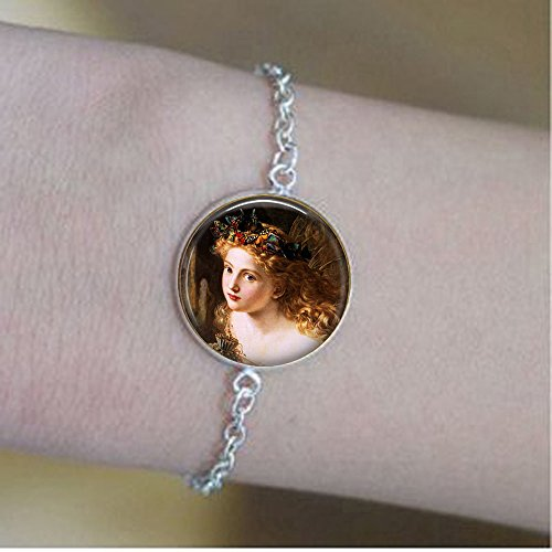 Sophie G. Anderson's The Fairy Queen- Butterfly Crown - Childhood Innocense - Bracelets Anderson Jewelry
