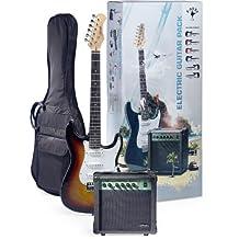 Stagg ESURF 250 SB US Surfstar Electric Guitar and Amplifier Package, Sunburst