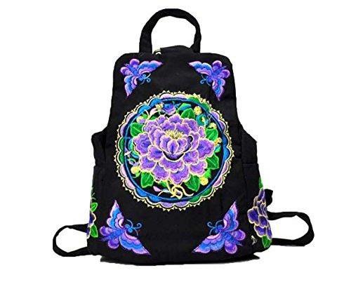 Japan National Costume Female (National Shoulder Bag Canvas Embroidered BAG Canvas Embroidery Embroidered Bag)