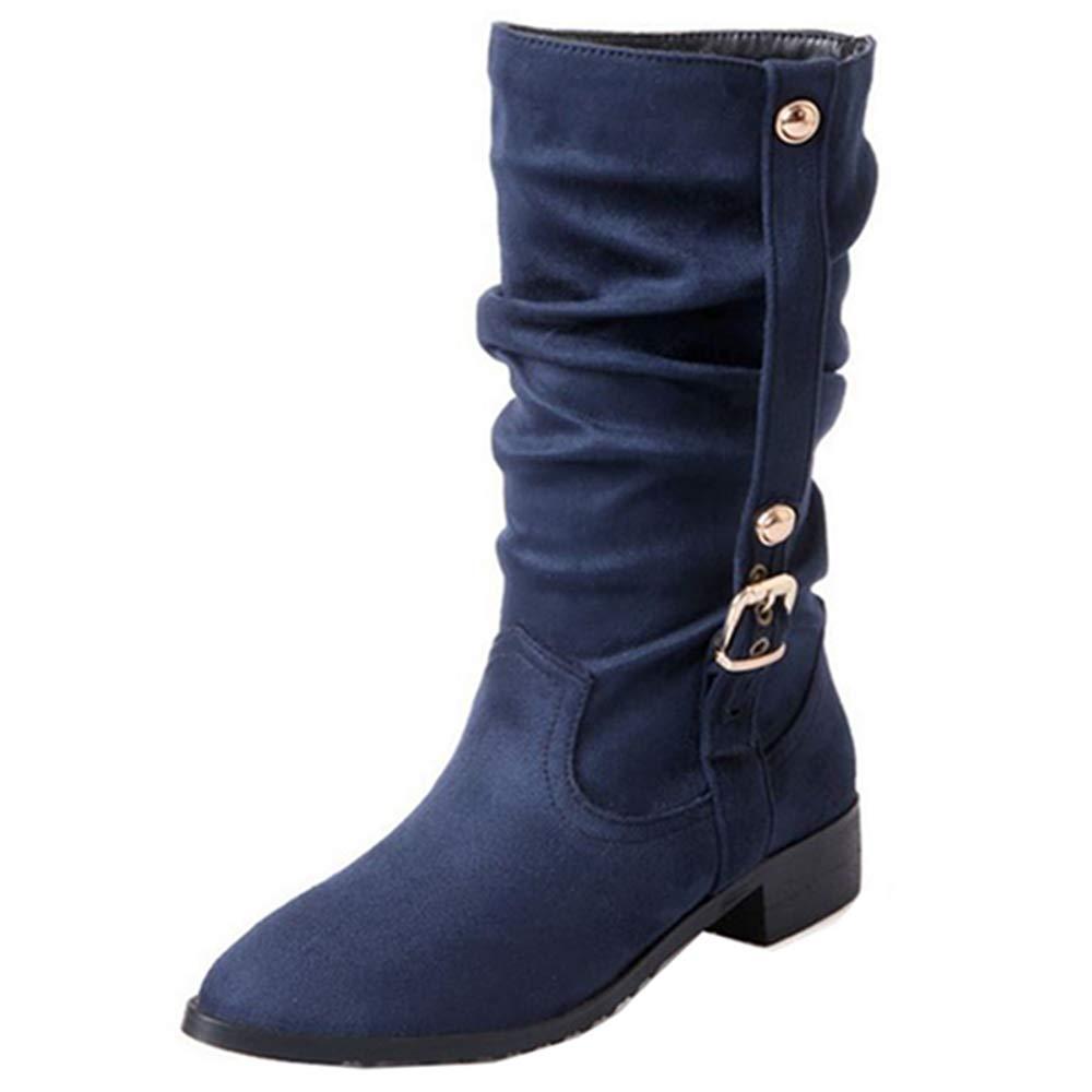 Cocey Femme , Chelsea Boots B078SX2SHY Chelsea Femme Bleu 9713f2f - piero.space