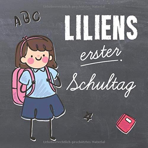Liliens Erster Schultag Kreatives Erinnerungsalbum