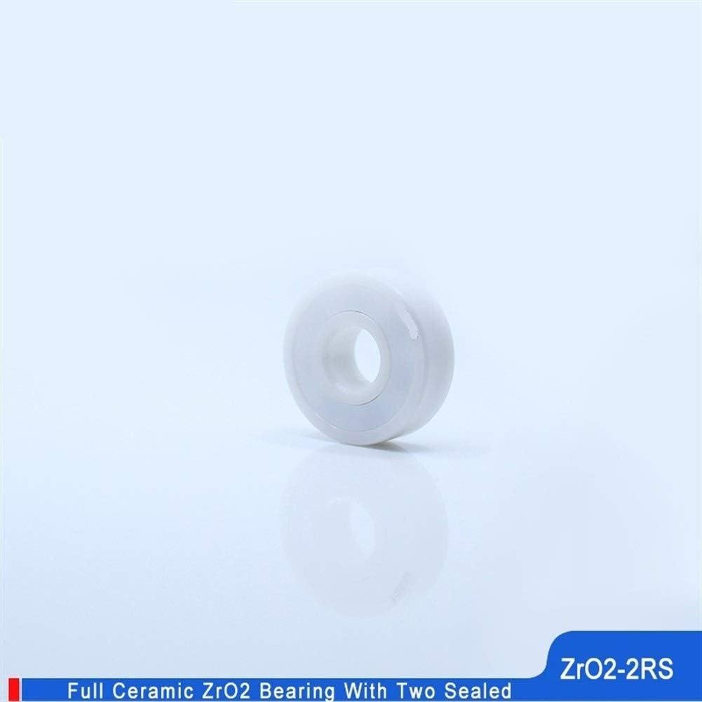 BAIJIAXIUSHANG Bearings 6901CE 6901 Full ZrO2 Ceramic Bearing 1PC P5 6901RS Double Sealed Dust Proof 6901 RS 2RS Ceramic Ball Bearings 12x24x6 mm
