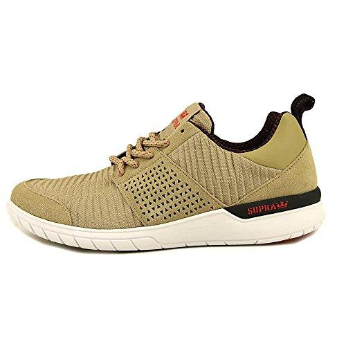 Shoe m Scissor Khaki Supra White Skate qAEX1f