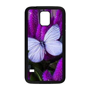 Butterfly Brand New Cover Case with Hard Shell Protection for SamSung Galaxy S5 I9600 Case lxa#452158 hjbrhga1544