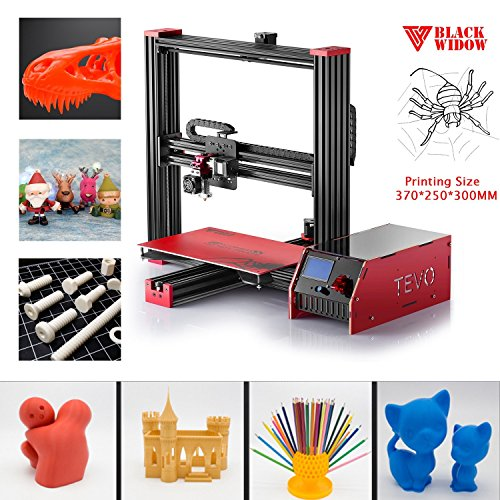 TEVO Black Widow High Performance 3D Printer Max Printing Size 370250300mm by Happystore999 (Image #2)