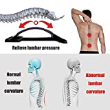 Lower Back Stretcher with Magnetic Acupressure