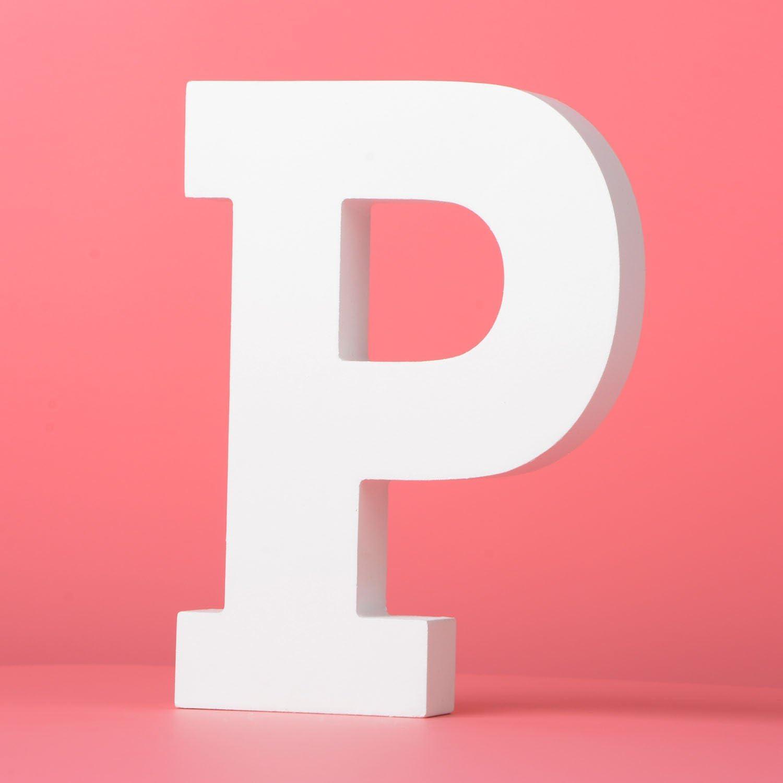 lettre d/écorative blanche de mur pour la chambre /à coucher de b/éb/é de chambre /à coucher de b/éb/é Lettres en bois de grand mur accrochant A-Z nom de b/éb/é et d/écor de chambre /à co