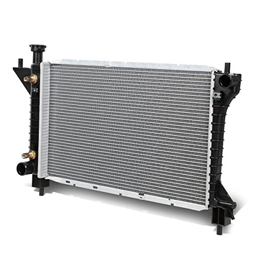 For Ford Mustang 4th Gen Black 1-1/2 inches Inlet OE Style Aluminum Replacement Racing Radiator