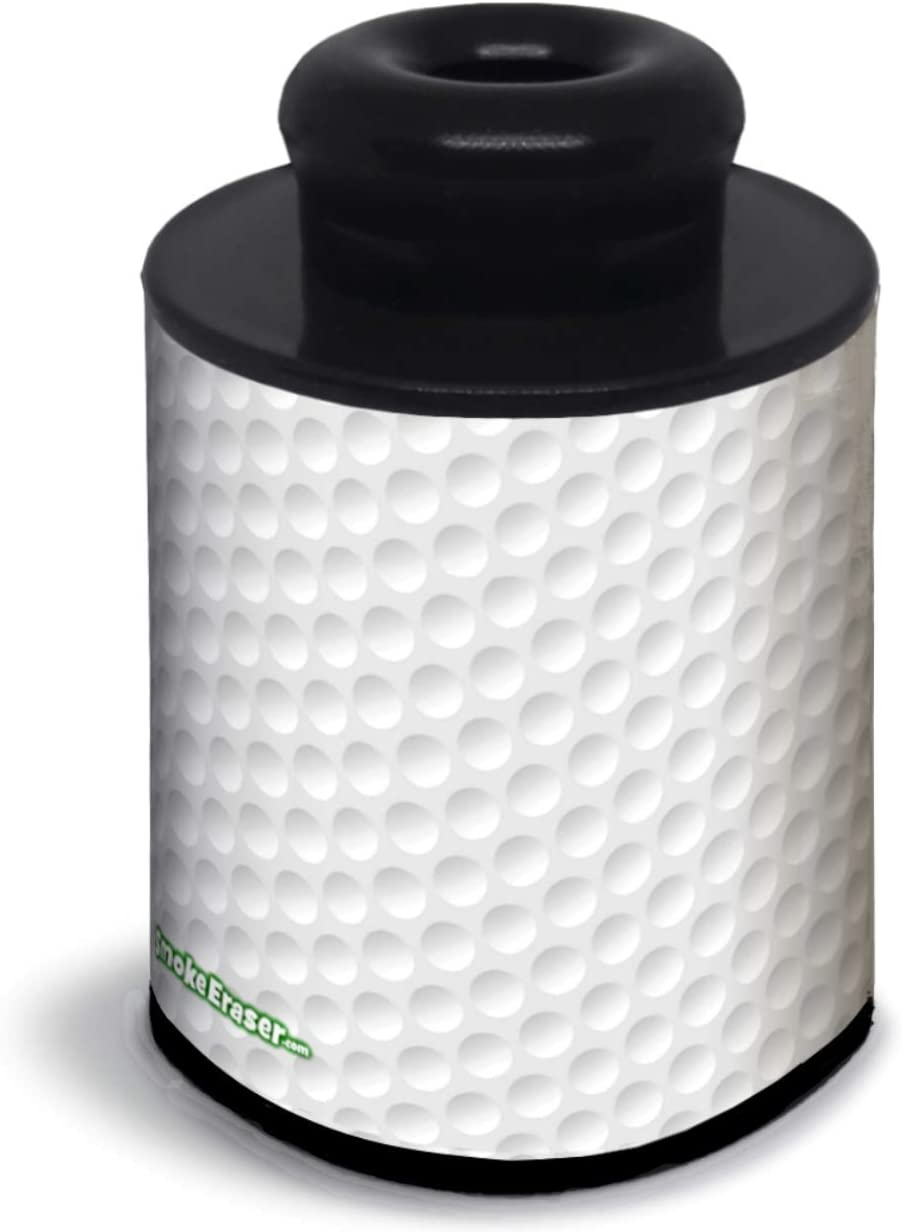 Smoke Eraser V3- Unprecedented Sploof Extends Life Months. 1400+ Exhales as Each Time Drying Pre-Filter Makes Like New. Novel Design Unmatched Value - 1 Cent/Hit. Conceal All Odor, Smoke. Buddy, Tool