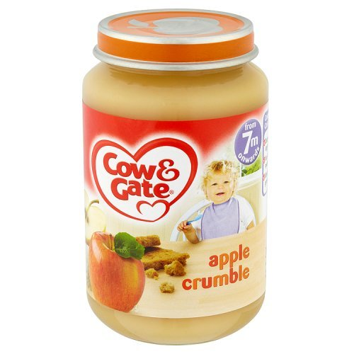 Cow & Gate - Baby Food 7 Months Onwards - Apple Crumble - 200g 3380516