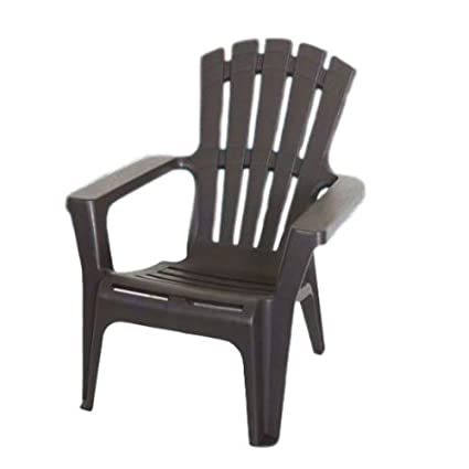 GT Plastic Adirondack Chair Garden Lounge Chair With Arms Lounge Plastic  Chair Patio Lawn Gargen Yard