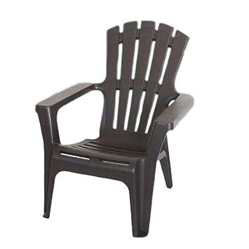Amazon.com: GT Adirondack silla de plástico juego de muebles ...
